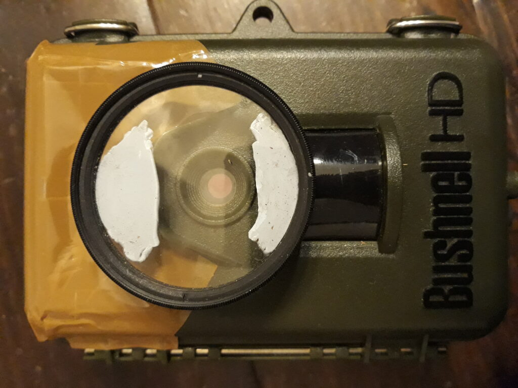 Bushnell camera trap