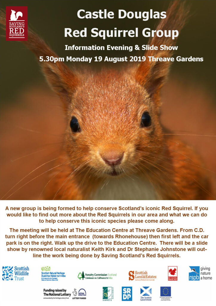 Castle Douglas Red Squirrel Group Meeting